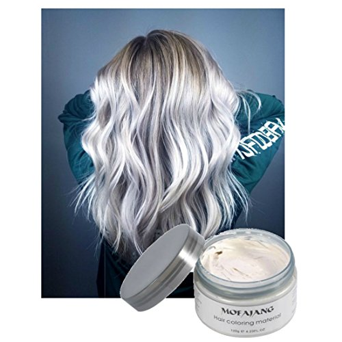 Halloween Costumes For Groups Of 6 (Vakker 7 Multicolor Transforming Washable Non Permanent Hair Color Dye, Hair Chalk, Wax, and Pomade for Costume, Halloween, or Cosplaying)
