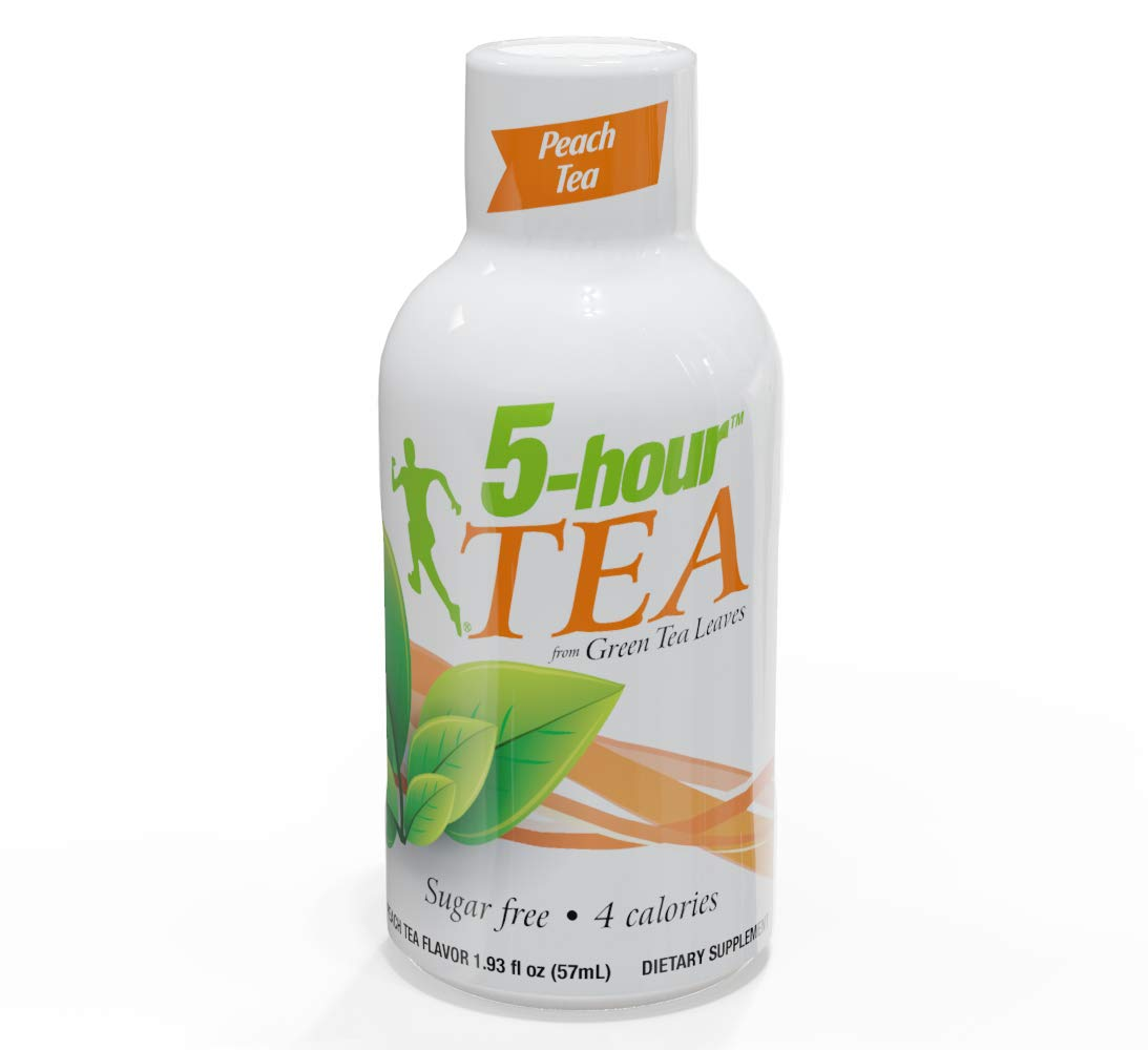 5-hour TEA, Peach Tea Flavored Energy Shots, 1.93 oz, 24 Count by 5-hour ENERGY (Image #3)
