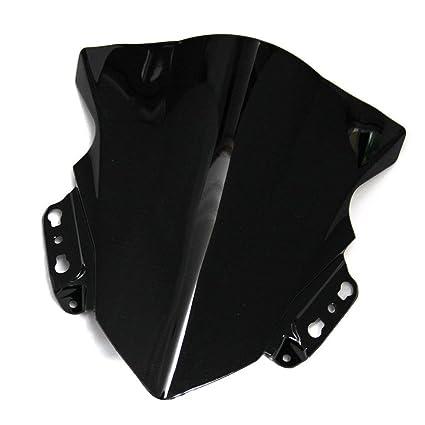 Motocicleta Wave parabrisas Shield viento protector de ...