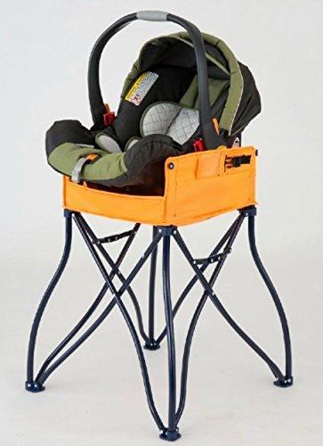 Amazon.com : Phoenix Baby Goto 2 In 1 Carseat Holder U0026 Travel High Chair,  Orange : Baby