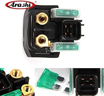 Amazon com: Arashi Electrical Starter Solenoid Relay for