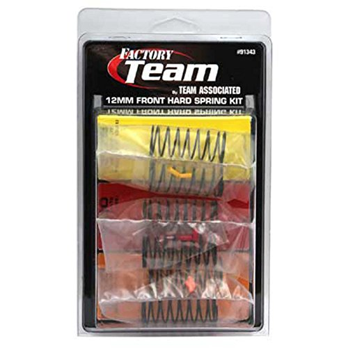 (Team Associated 91343 12mm Front Hard Spring Kit (3-Pair) )
