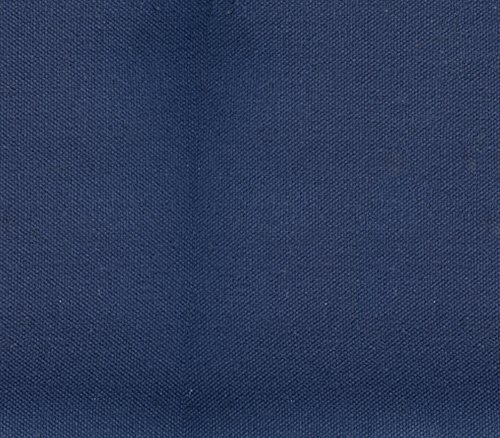 10 Ounce Duck Canvas (Canvas Duck Fabric 10 oz Dyed Solid NAVY BLUE / 60