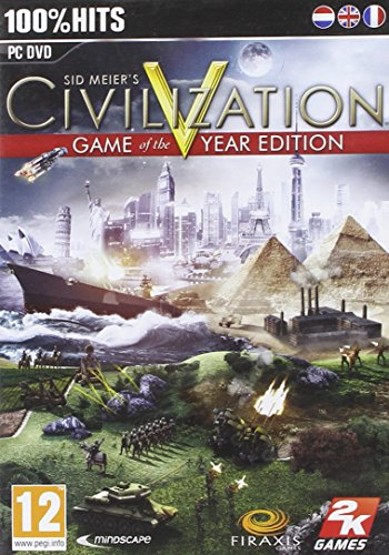 51xNDcBuDzL - Civilization V (5) Game of the Year Ed
