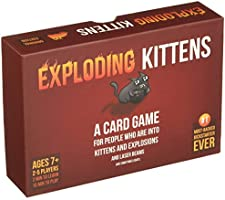 Exploding Kittens: A Card Game About Kittens and Explosions
