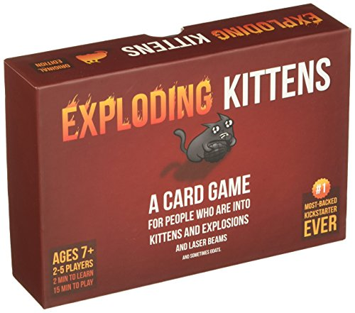 Exploding Kittens Card Game (Card Exciting Game)