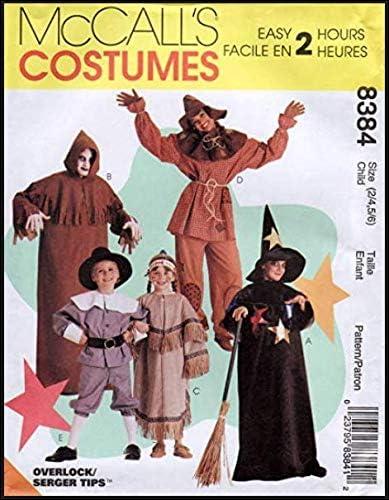 Simplicity McCalls 8384 - Patrones de Costura para Disfraces ...