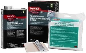 how to use bondo fiberglass resin