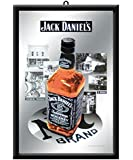 LEADWORKS デザイン小物 ブラックラウンド H4×W27.4×D37.2 パブミラー ジャックダニエル background 13050