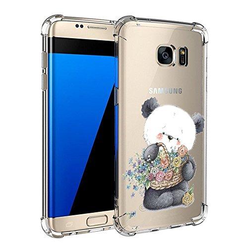 Fundas Samsung Galaxy S6 Vanki® Shockproof Series Silicio TPU Transparente Funda con tecnología de protección de la cubierta del cojín de aire para Samsung Galaxy S6 04