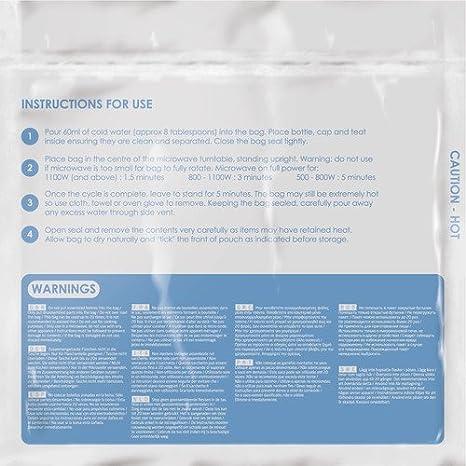 DESIGN GO KIDS MICROWAVE STERILIZING BAGS Design Go LTD 2630