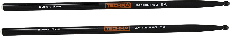 2B Techra Carbon Pro Super Grip Drum Sticks CPSG-2B