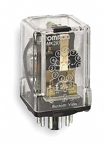 Latching Relay, 11 Pins, Octal, 120VAC by Omron