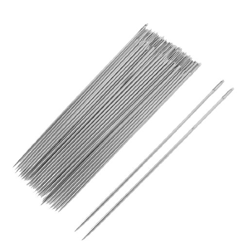 Metal Sewing Needles Inch Silver