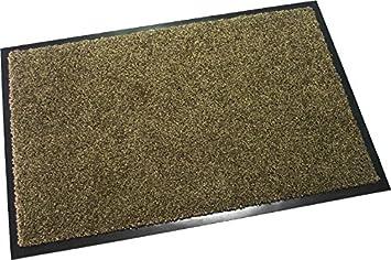 Hochwertige Fu/ßmatte Dunkelblau, 120x180 cm waschbare Schmutzfangmatte T/ürmatte in 11 Farben und 4 Gr/ö/ßen