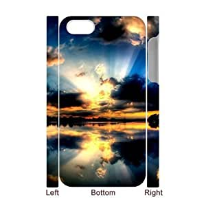 ALICASE Diy 3D Protection Hard Case Sunset For Iphone 5C [Pattern-6]