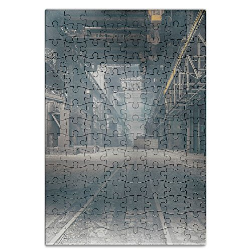 Price comparison product image Sixokai Hand Assembled Puzzle Toys Abandoned Factory 120 Piece