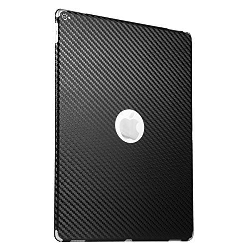 BodyGuardz - Carbon Fiber Armor, Protective Skin for Apple iPad Pro 12.9-Inch (Black)