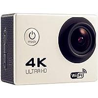 Oineke 4K HD WiFi Waterproof Sports Camera Outdoor Mini Camera Point & Shoot Digital Cameras