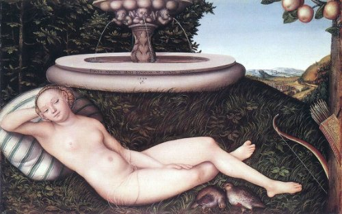 - The Elder Lucas Cranach The Nymph of the Fountain - 18.05