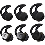 Bose Noise Isolation Silicone Earbuds/Earplug Tips 3 Pairs Size S M L for Bose Earphones Fit Bose QC20 QuietControl 20…