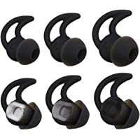 Bose Replacement Noise Isolation Silicone Earbuds/Earplug Tips 3 Pairs Size S M L for Bose Earphones Fit Bose QC20…