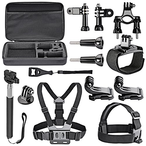 Neewer 7-In-1 Sport Accessory Kit for GoPro Hero4 Session He