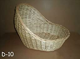 Newborn baby infant cylindrical type photography prop handmade woven basket D-10