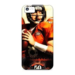 New Denver Broncos Tpu Case Cover, Anti-scratch PopFront Phone Case For Iphone 5c