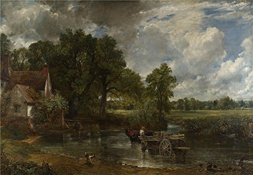 The High Quality Polyster Canvas Of Oil Painting 'John Constable The Hay (24 Hay Rack)