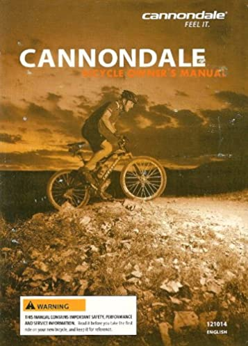 cannondale bicycle owner s manual 121014 amazon com books rh amazon com Vintage Cannondale Bicycles Vintage Cannondale Bicycles