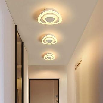 WSYYWD Lámpara de techo LED Sala de estar Pasillo Lámpara de ...