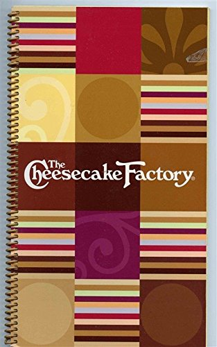 The Cheesecake Factory 36 Page Souvenir Menu 2007 St Louis Missouri