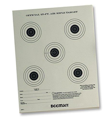Beeman Paper Targets (Pack of 25)