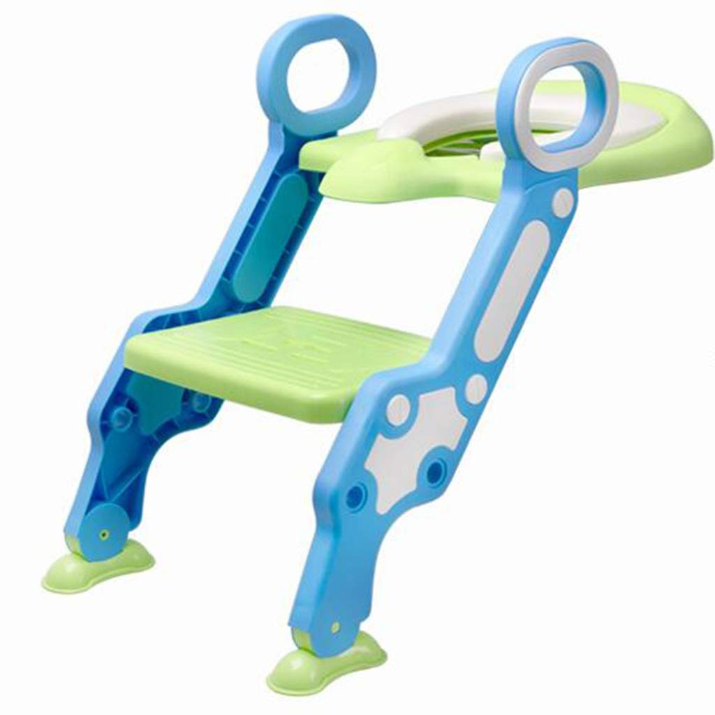 Toilet Ladder, Folding Potty Trainer Adjustable Training Chair for Children Aged 1-6 Years Old