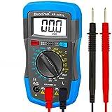 Digital Multimeter, HOLDPEAK 4070L Manual-Ranging Multi Tester for Measuring Resistance,Capacitance, Inductance, Transistor, hFE of 2000 Count (Blue)