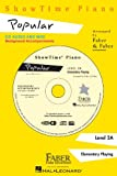 Showtime Piano Popular CD Level 2A
