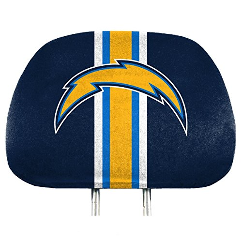 NFL Los Angeles Chargers Full-Print Head Rest Covers, ()