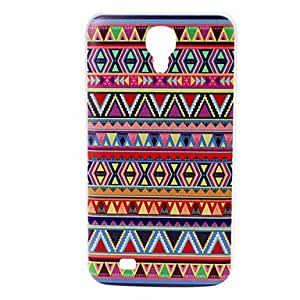 NEW National Style Abstract Geometric Pattern Plastic Hard Case for Samsung Galaxy Mega 6.3 I9200 , A