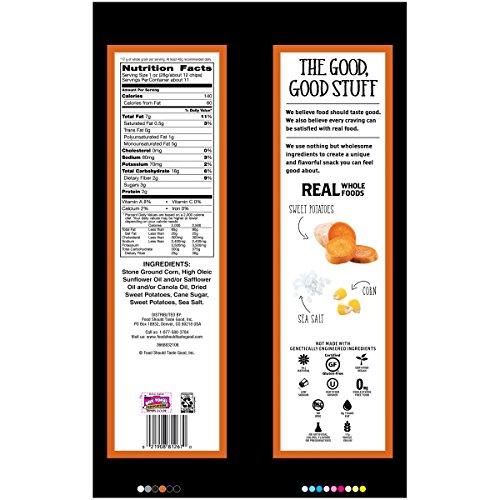 Food Should Taste Good, Gluten Free Sweet Potato Tortilla Chips, 11 oz