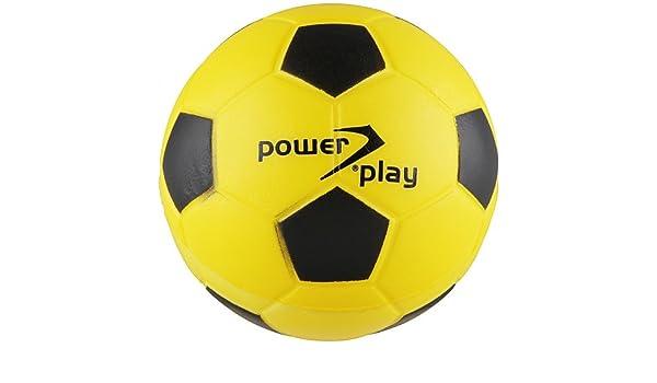 Sport 2000 - Balón de fútbol de gomaespuma amarillo gelb-schwarz ...