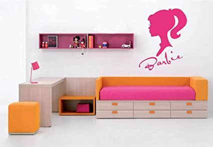 Amazon.com: Barbie vinyl wall art decal: Home & Kitchen