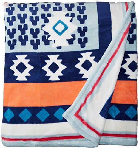 (Vera Bradley XL Throw Blanket, Fleece, patchwork bouquet)