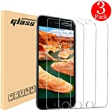 """iPhone 8 7 Screen Protector, Automoness 9H HD Ultra Clear Anti-Bubble iPhone 8 7 Tempered Glass Screen Protector for Apple iPhone 8, iPhone 7, 4.7"""" (3-Pack)"""