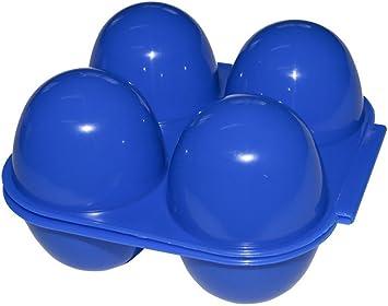 Eierbehälter Plastik Made in Germany Eierbox Eierträger 2-fach Sonja PLASTIC
