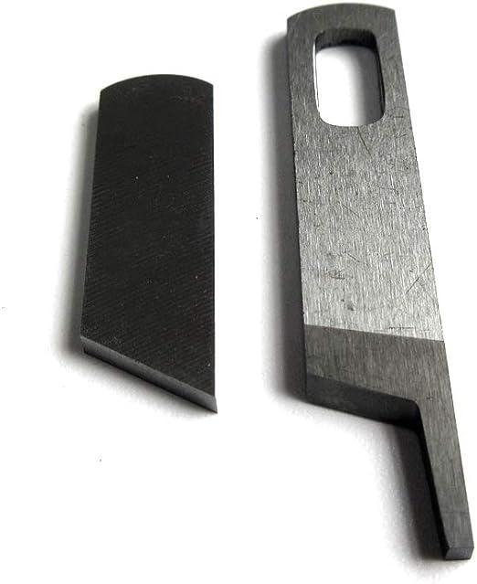 Sergers #412585 Upper Carbide /& Lower Knife#412749 Singer14U12A,14U13A,14U23A