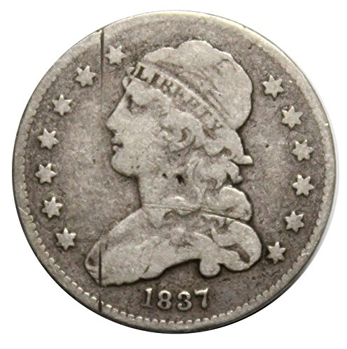 - 1837 25C Capped Bust Quarter Very Good