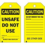 Brady 86549, Accident Prevention Tag, (12 Packs of 10 pcs)