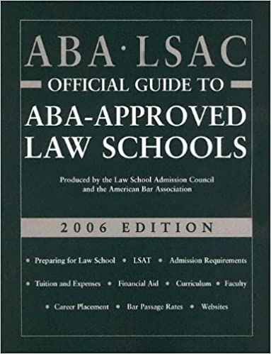 Read aba-lsac official guide to aba-approved law schools 2009 for full.