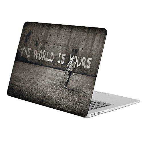 KoolMac [ Full Body Hard Case ] [ Apple MacBook Air 11 inch 11 #34;  Model: A1370 / A1465  ]   Artistic Graffiti